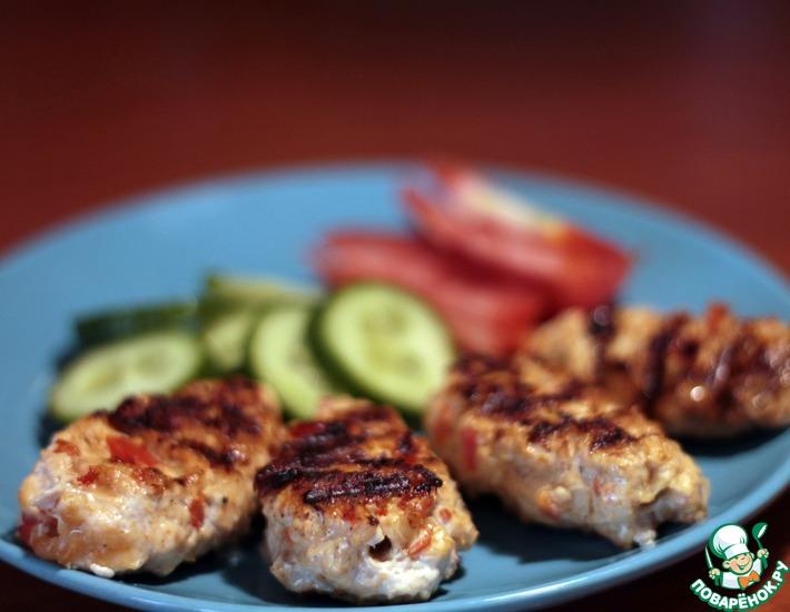 Рецепт: Люля-кебаб на сковороде