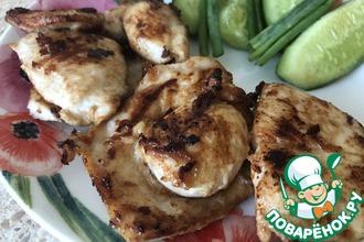 Рецепт: Куриная грудка «Сочная»