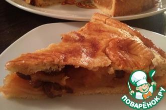 Рецепт: Закрытый яблочный пирог