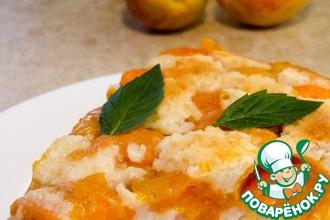 Рецепт: Вкуснейшая шарлотка из абрикосов