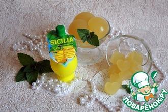 Рецепт: Дынно-лимонный мармелад