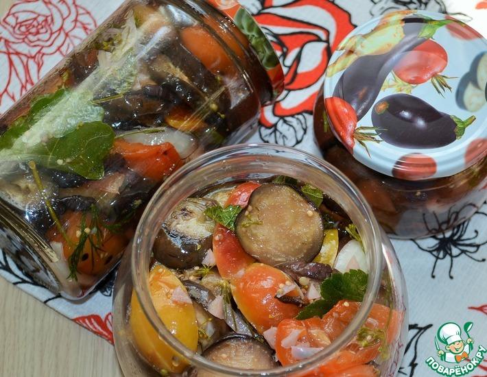 Рецепт: Овощи маринованные Быстрые