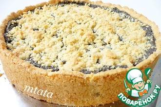 Рецепт: Маковый пирог со штрейзелем