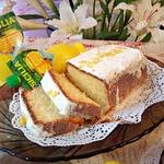 Масляно-лимонный кекс