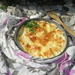 Запеканка из картофельных вареников