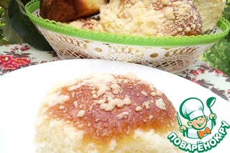 Рецепт: Духовые пирожки с яблоками