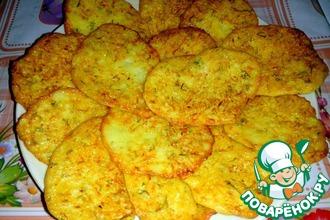 Рецепт: Картофельные драники с кабачком
