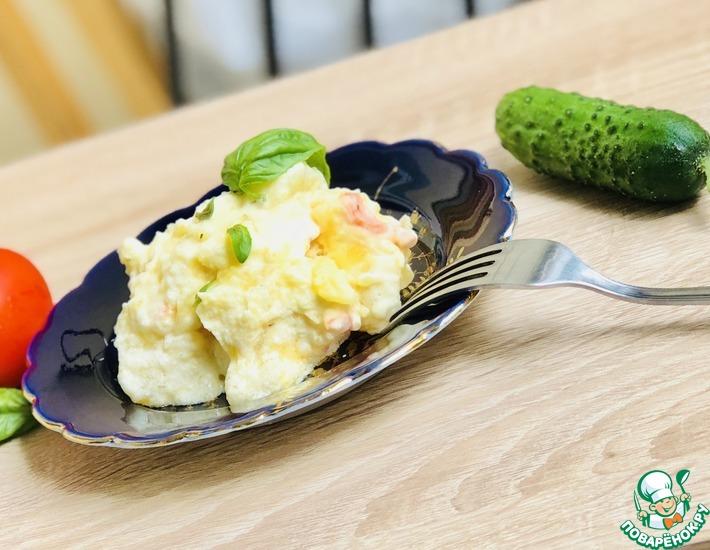 Рецепт: Тушеный картофель без воды