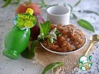 Яблочно-мятный конфитюр ингредиенты