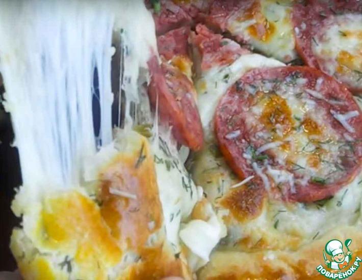 Рецепт: Пицца с самой вкусной корочкой