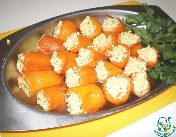 Рецепт: Фаршированные перцы паприка