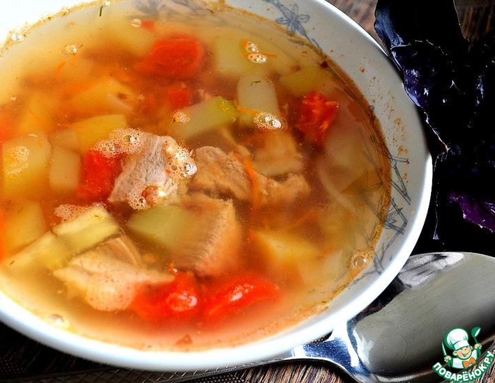 Рецепт: Гречневый суп Летний