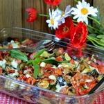 Запеченная овощная миска