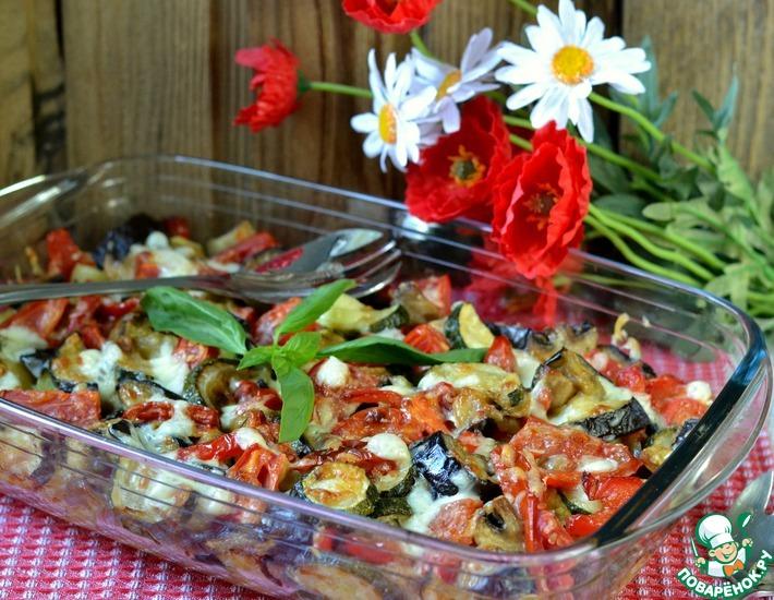 Рецепт: Запеченная овощная миска