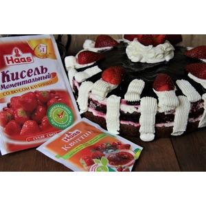Летний торт Красное и черное