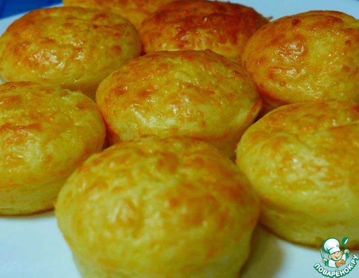 Рецепт: Сырные кексы