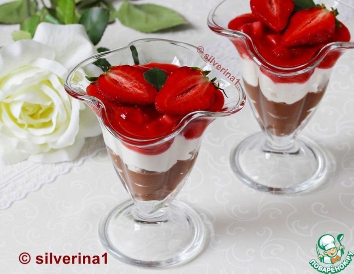 Рецепт: Клубничный десерт