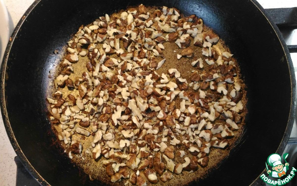 Карамельно-ореховая колбаска