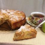 Яблочный пирог на яичном ликёре