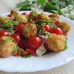 Салат с картофельными шариками