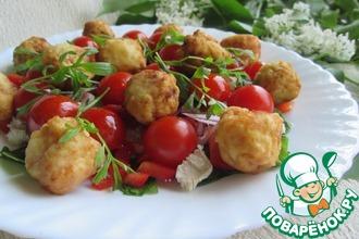 Рецепт: Салат с картофельными шариками