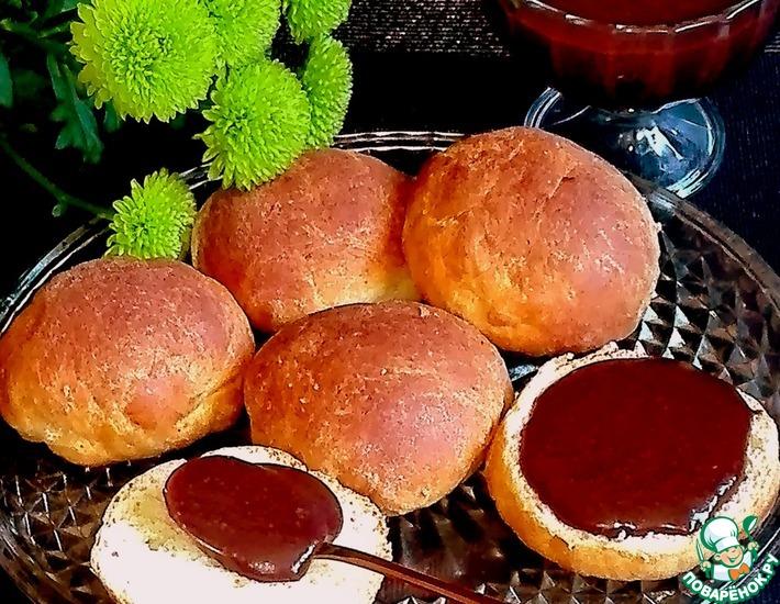 Рецепт: Шоколадно-сливовое варенье с арахисом