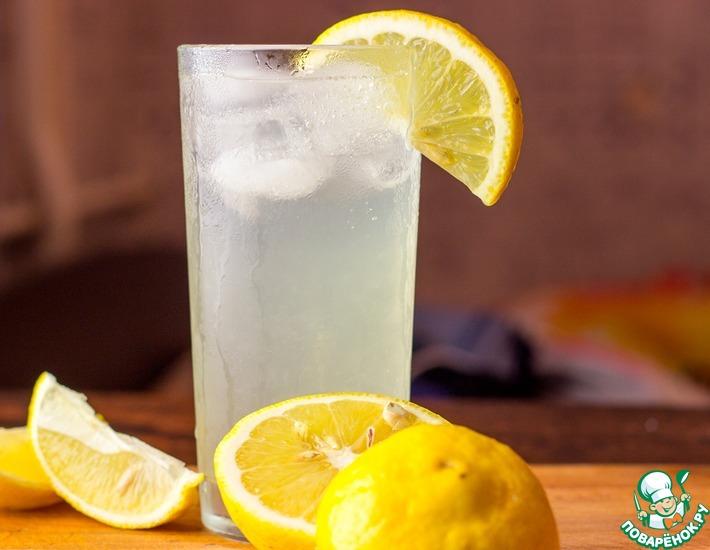 Рецепт: Домашний лимонад с имбирем