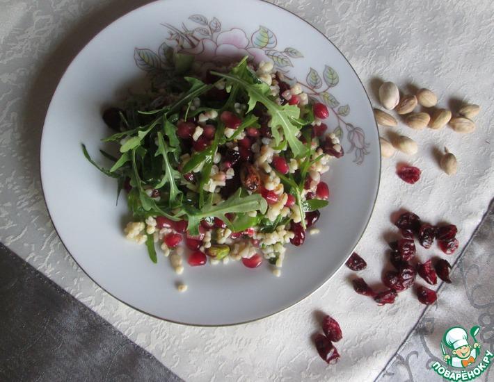 Рецепт: Салат из булгура с гранатом