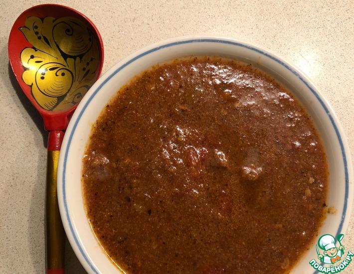 Рецепт: Чили В техасском стиле