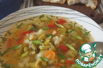 Рецепт: Летний овощной суп