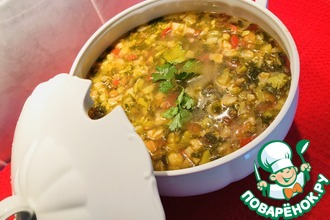 Рецепт: Овощной суп