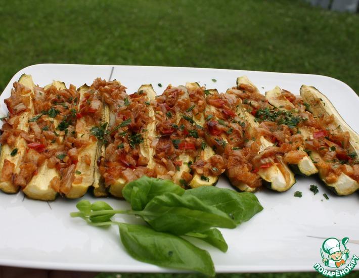 Рецепт: Кабачки в марокканском стиле