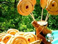 Закусочные лепешки Улитки ингредиенты