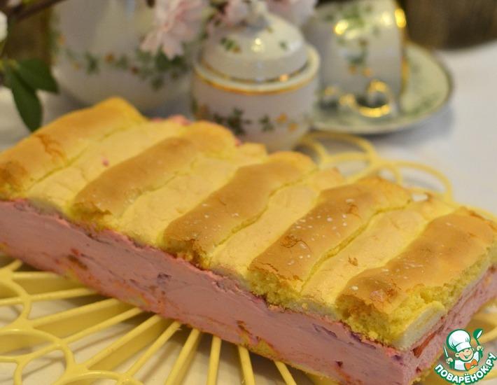 Рецепт: Пирожное Кардинал