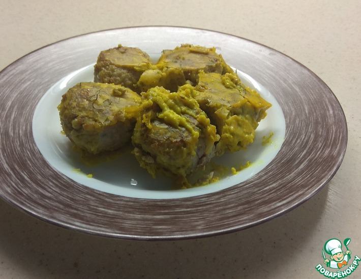 Рецепт: Тефтели из индейки под соусом