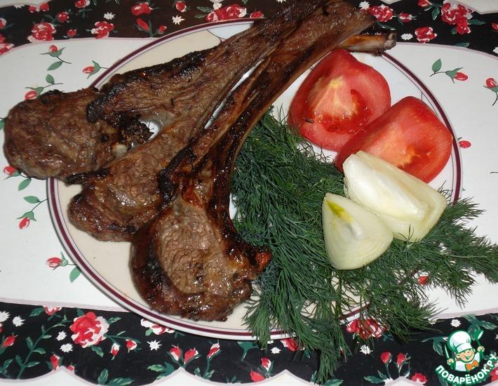 Рецепт: Шашлык из баранины по-узбекски