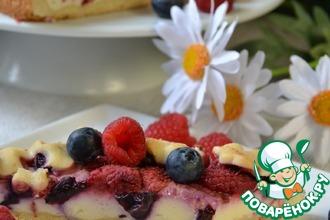 Рецепт: Пирог Ягодная полянка