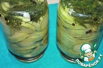 Рецепт: Маринованные кабачки на зиму
