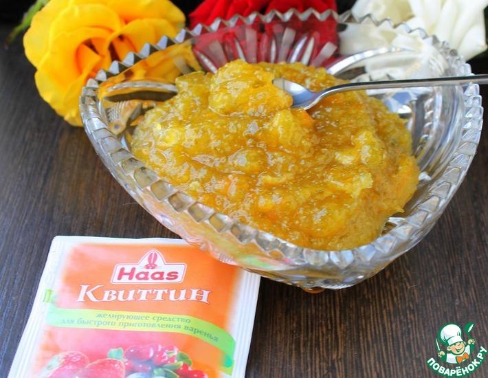 Рецепт: Джем из кабачков с апельсином