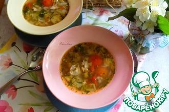Рецепт: Лёгкий овощной суп
