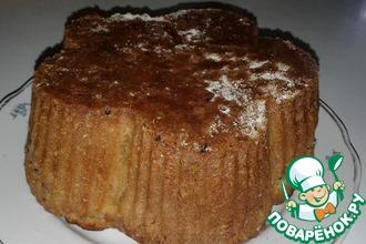 Рецепт: Яблочный пирог на кефире