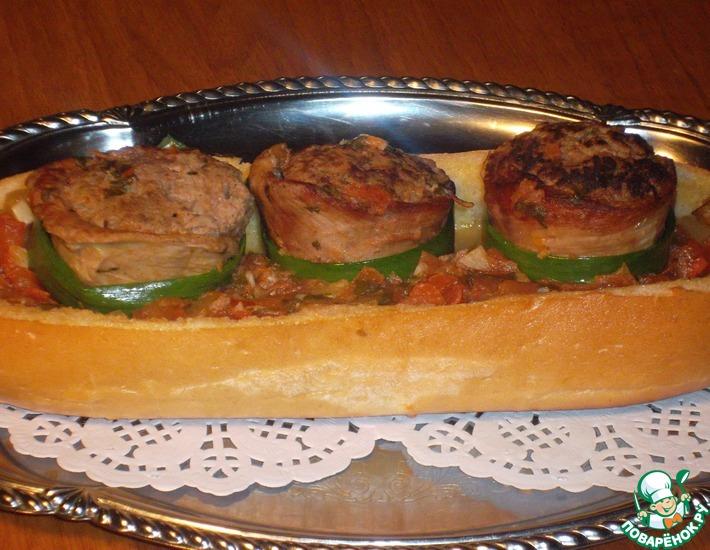 Рецепт: Бараний бейт