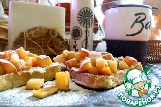Рецепт: Почти французские тосты к завтраку