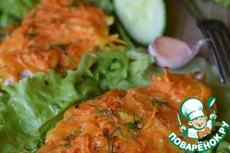 Рецепт: Куриное филе с морковью и сыром