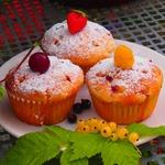 Маффины с летними ягодами