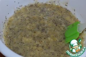 Банановый кекс, без яиц и без лактозы, пошаговый рецепт с фото