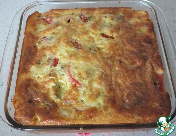Рецепт: Паштида с цветной капустой и картофелем