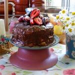 Торт к чаю с сезонными ягодами