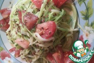 Рецепт: Кабачковый салат