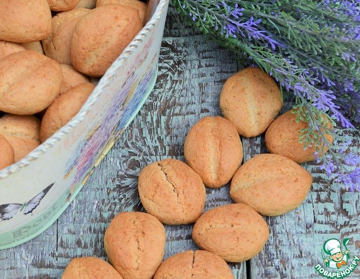 Рецепт: Ячменно-кукурузное печенье Зёрнышко